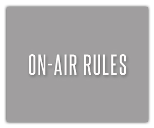 On Air Rules